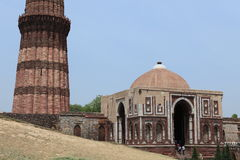 Qutab Minar in New Dehli India Royalty Free Stock Photos