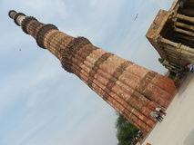 Qutab Minar. Is the tallest building in India Stock Image