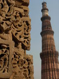 Qutaben Minar Royaltyfri Foto