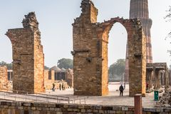 Qutb complex (Qutub Royalty Free Stock Photography