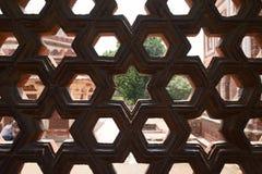 Qutb - Minar σύνθετο Στοκ Εικόνα