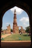 Qutb Minar Foto de Stock Royalty Free