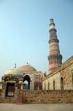 Qutb Minar. Ialamic relic in Delhi,India Royalty Free Stock Photography