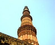 Qutb Minar Stockfotos
