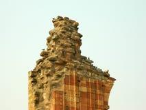 Qutb Minar stockbilder