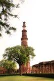 Qutb Minar Imagenes de archivo