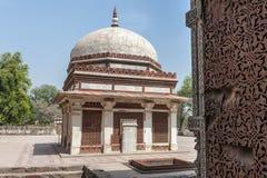 Qutb Minar, Delhi Imagen de archivo libre de regalías