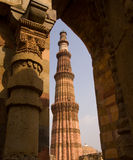 Qutb Minar, Delhi Fotografía de archivo