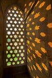 Qutb Minar, Delhi, carvings Stock Photos