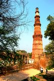 Qutb Minar in Delhi, India Stock Images