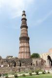 Qutb Minar, Deli Imagem de Stock