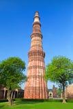 Qutb Minar, la India Fotos de archivo libres de regalías