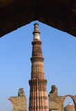 The Qutb Minar monument in New Delhi, India Royalty Free Stock Images