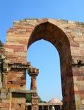 The Qutb Minar monument site in New Delhi, India Stock Image