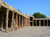 The Qutb Minar monument site in New Delhi, India Stock Photography