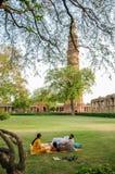 Qutb Minar in Neu-Delhi, Indien Lizenzfreies Stockfoto