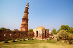 Qutb Minar, New Delhi Royalty Free Stock Photos