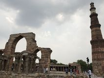 Qutb Minar. In New Delhi, India Stock Image