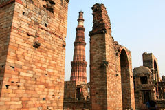 Qutb minar Royalty Free Stock Photo