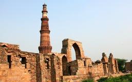 Qutb minar Stock Photo
