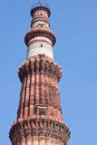Qutb Minar tower in Delhi Stock Photography