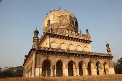 Qutb Shahi Tombs, Hyderabad. Qutb Shahi Tombs, Near the Golconda fort, Hyderabad, Andhra Prades, India royalty free stock photos