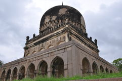 Qutb Shahi Tombs in Hyderabad Stock Photography