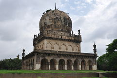 Qutb Shahi Tombs in Hyderabad Royalty Free Stock Images