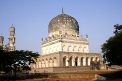 Qutb Shahi Tombs Stock Photos