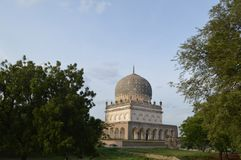 Qutb Shahi tombs, Hyderabad, India Stock Images