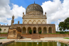 Qutbshahi tomb Stock Photography