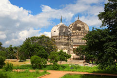 Qutbshahi tombs Stock Photography