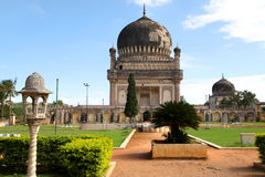Qutbshahi tombs landscape Royalty Free Stock Photos