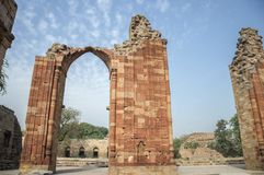 Qutub arch Stock Photo