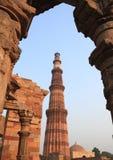 qutub delhi Индии minar новое Стоковые Изображения