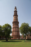 qutub delhi Индии minar Стоковая Фотография