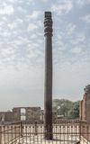Qutub iron pillar Royalty Free Stock Image