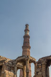 Qutub Minar,新德里 图库摄影