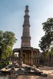 Qutub Minar,新德里 库存照片