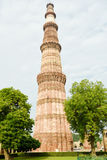 Qutub Minar,新德里 免版税库存照片