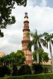 Qutub Minar,新德里 免版税图库摄影