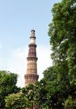 Qutub Minar,新德里 库存图片