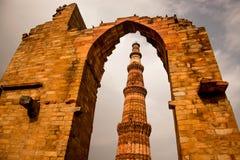 Qutub Minar, Νέο Δελχί, Ινδία Στοκ εικόνα με δικαίωμα ελεύθερης χρήσης