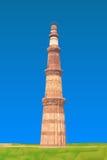 Qutub Minar Arkivfoton
