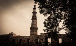 Qutub Minar 4 Στοκ Εικόνα