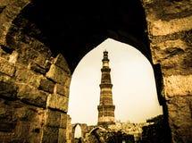 Qutub Minar 3 Στοκ Εικόνες