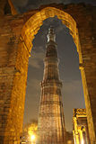 Qutub Minar Imagens de Stock Royalty Free