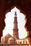 Qutub Minar Imagem de Stock Royalty Free