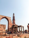 Qutub Minar Stockfotos