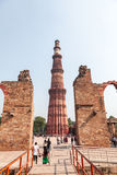 Qutub Minar Photographie stock